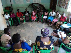 Malawian Activists in workshop